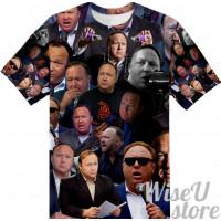 Alex Jones  T-SHIRT Photo Collage shirt 3D