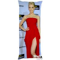 Amber Heard Supernatural Dakimakura Full Body Pillow case Pillowcase Cover