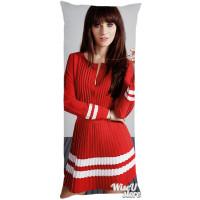 ZOOEY DESCHANEL Full Body Pillow case Pillowcase Cover