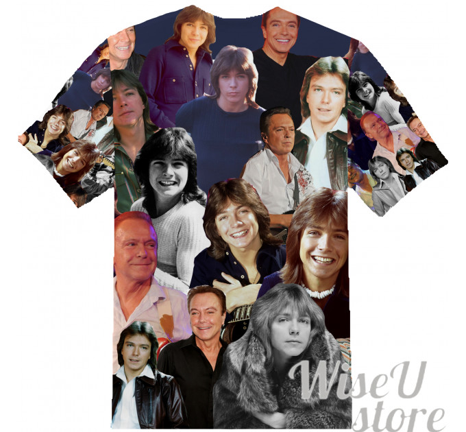 DAVID CASSIDY T-SHIRT Photo Collage shirt 3D