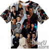 DAVID GANDY T-SHIRT Photo Collage shirt 3D