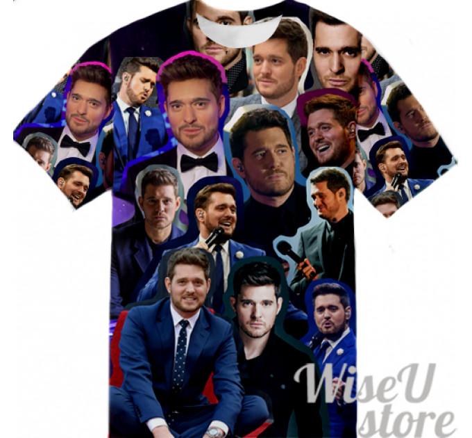 MICHAEL BUBLE T-SHIRT Photo Collage shirt