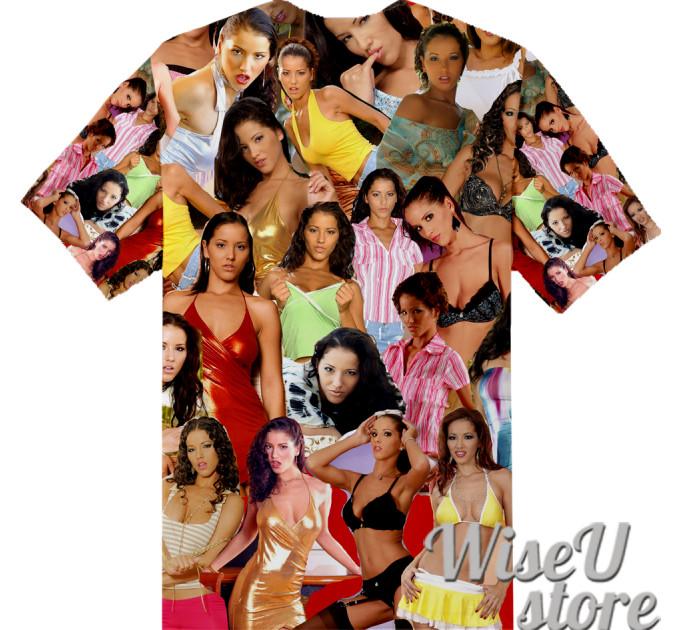 Angel Dark T-SHIRT Photo Collage shirt