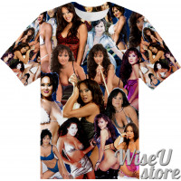 Asia Carrera T-SHIRT Photo Collage shirt 3D