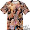 Brittney Skye Pornstar T-SHIRT Photo Collage shirt