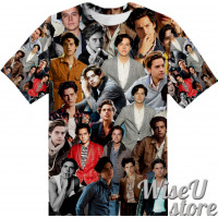 Cole Sprouse T-SHIRT Photo Collage shirt