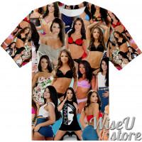ADRIANA CHECHIK T-SHIRT Photo Collage shirt 3D