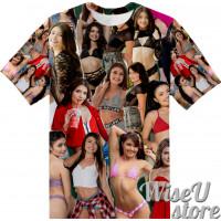 Adria Rae T-SHIRT Photo Collage shirt 3D