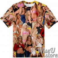 Alexis Adams T-SHIRT Photo Collage shirt 3D
