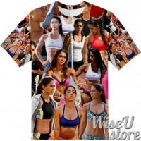 ALLISON STOKKE T-SHIRT Photo Collage shirt 3D