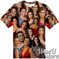 Alyssa Milano T-SHIRT Photo Collage shirt 3D