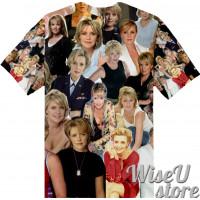 Amanda Tapping T-SHIRT Photo Collage shirt 3D