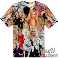 Anna Nicole Smith T-SHIRT Photo Collage shirt 3D