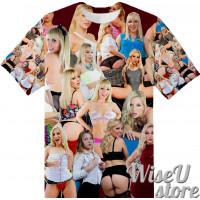 ASHLEY FIRES  T-SHIRT Photo Collage shirt 3D