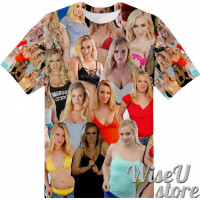 Bailey Brooke T-SHIRT Photo Collage shirt 3D