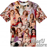 Athena Rayne T-SHIRT Photo Collage shirt 3D