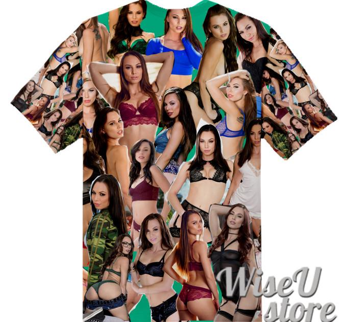 Aidra Fox T-SHIRT Photo Collage shirt 3D