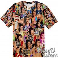 Bayley T-SHIRT Photo Collage shirt 3D
