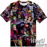 Batman 1966 T-SHIRT Photo Collage shirt 3D