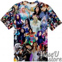 Yaya Han T-SHIRT Photo Collage shirt 3D