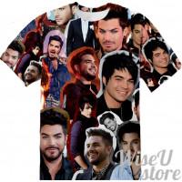 ADAM LAMBERT  T-SHIRT Photo Collage shirt 3D