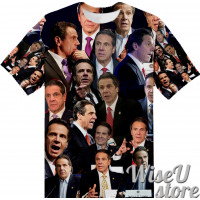 Andrew Cuomo T-SHIRT Photo Collage shirt 3D