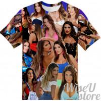 AUGUST AMES T-SHIRT Photo Collage shirt 3D