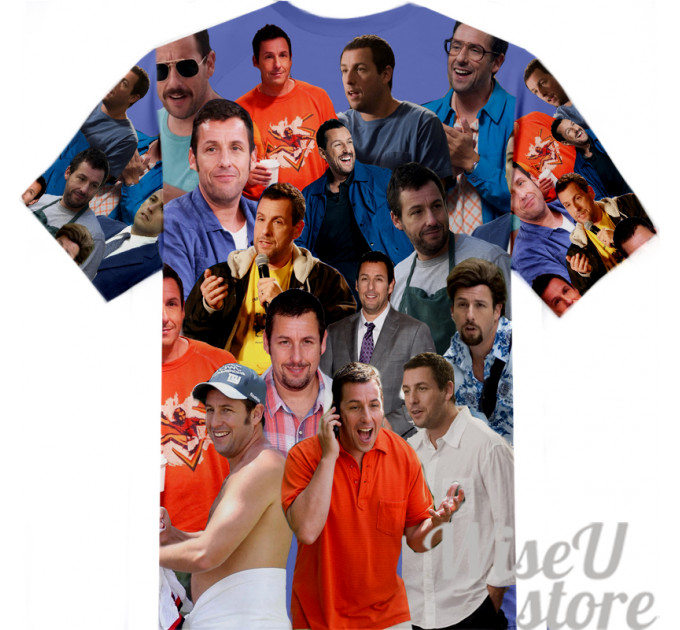 Adam Sandler  T-SHIRT Photo Collage shirt 3D
