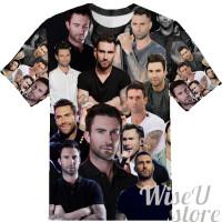 Adame Levin  T-SHIRT Photo Collage shirt 3D
