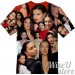 Adriana Lima  T-SHIRT Photo Collage shirt 3D