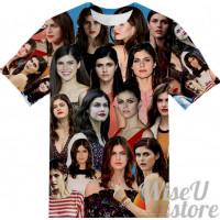 Alexandra Daddario  T-SHIRT Photo Collage shirt 3D