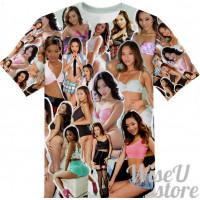 Alina Li  T-SHIRT Photo Collage shirt 3D