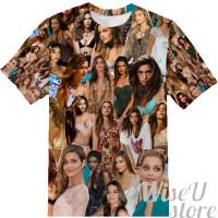Ana Beatriz Barros T-SHIRT Photo Collage shirt 3D