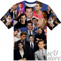 Andrew Rannells T-SHIRT Photo Collage shirt 3D