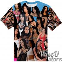 Anissa Kate T-SHIRT Photo Collage shirt 3D