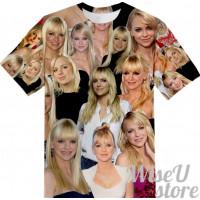 Anna Faris T-SHIRT Photo Collage shirt 3D