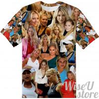 Anna Kournikova Connie Carter T-SHIRT Photo Collage shirt 3D