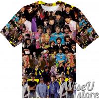 BEATLES T-SHIRT Photo Collage shirt 3D