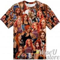 BECKY LYNCH T-SHIRT Photo Collage shirt 3D