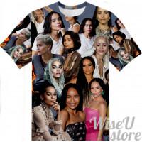 Zoe Kravitz T-SHIRT Photo Collage shirt 3D